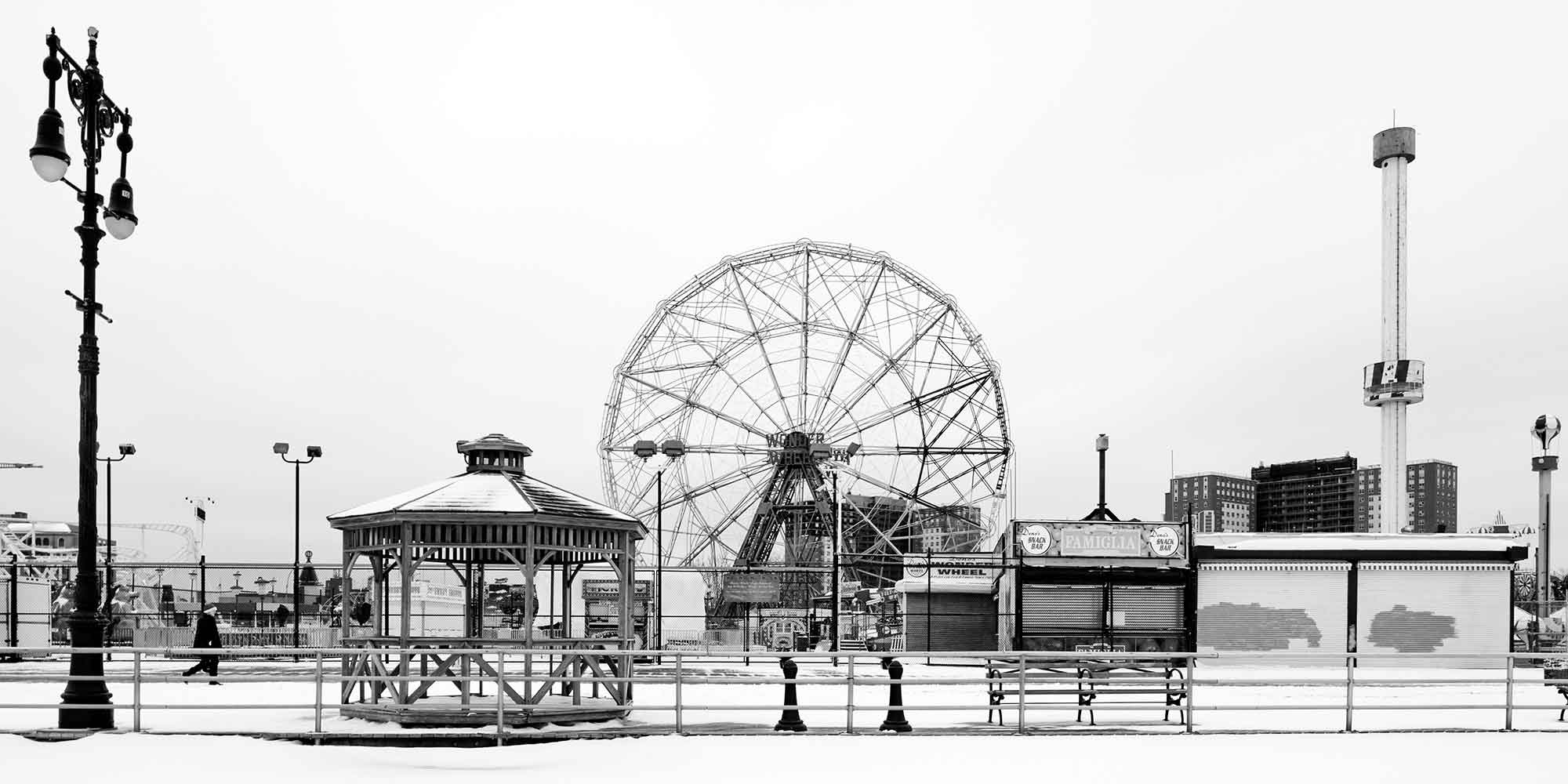 Coney Island Boardwalk Vintage